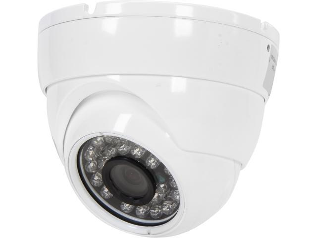 eSecure ES18C290 700 TV Lines Sony Effio-E DSP Night Vision CCTV Security Camera - 3.6mm Wide Angle Lens and 26 IR LEDs, IP66 (White)