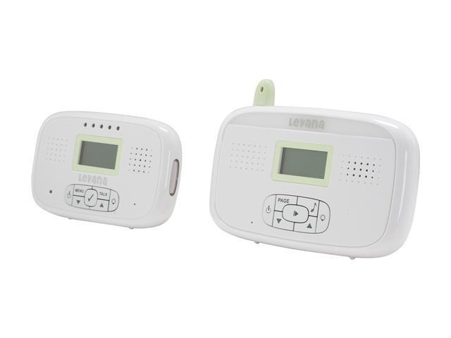 Levana NWG6-200 Melody Digital Baby Monitor with Talk-To-Baby Intercom and Temperature Sensor