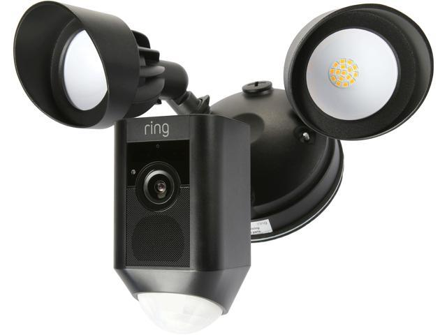 Ring floodlight cam motion activated hd security camera with built in floodlights