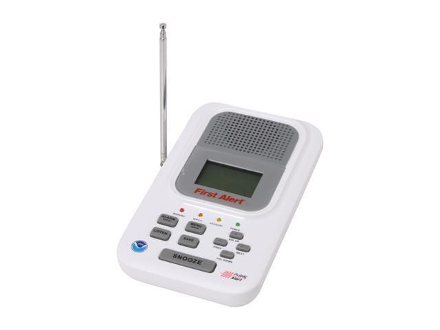 Sima WX-200 First Alert NOAA Weather Alert Radio with FM Band
