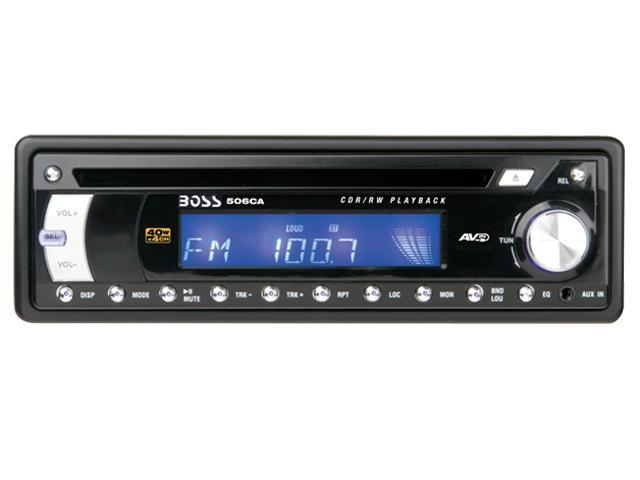 BOSS AUDIO In-Dash CD Receiver