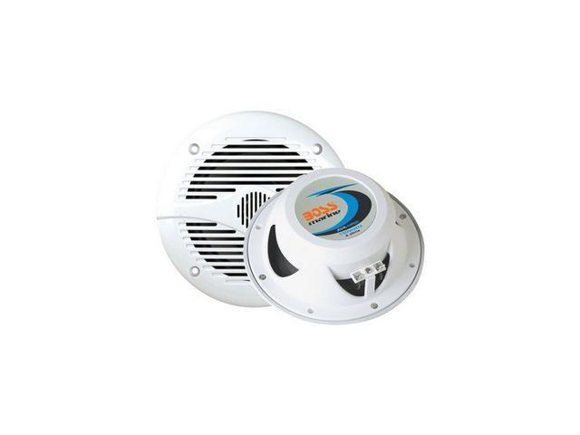 """Boss Audio 6.5"""" 200 Watts 2-Way Marine Speakers, White"""