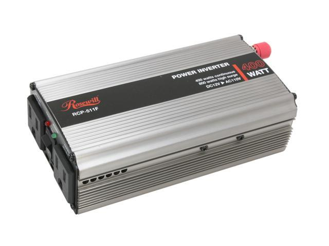 Rosewill RCP-511F 400W DC To AC Power Inverter