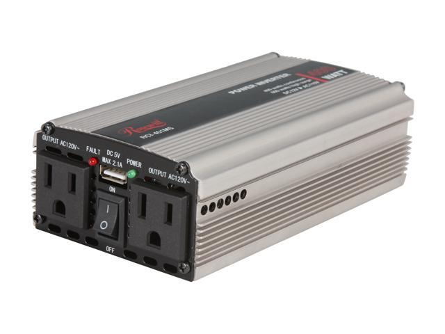 Rosewill RCI-401MS 400W DC To AC Power Inverter with one 2.1A USB Port