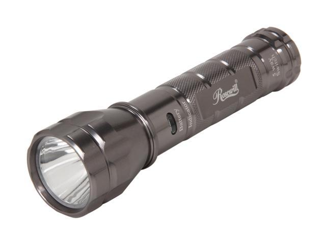 Rosewill RLFL-11001 3W 220 Lumen Cree LED Aluminum Flashlight