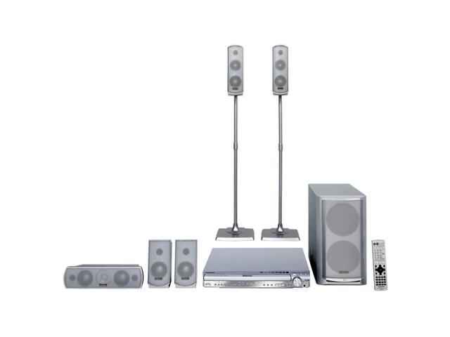 Panasonic SC-HT730 Home Theater System with Progressive Scan 5-DVD Changer & 5.1CH Speakers