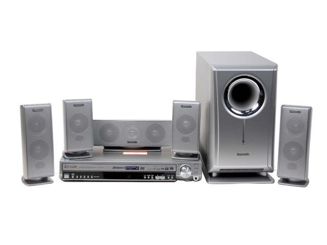 panasonic home theater. Panasonic SC-HT720 5-DVD Changer Home Theatre System Theater H