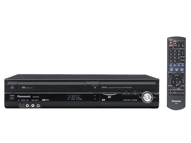 Panasonic DMR-EZ48VK Progressive Scan DVD Recorder with VHS VCR