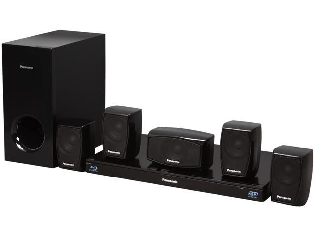 Panasonic SC-BTT270 Full HD 3D Built-in Wifi Blu-ray Disc Home Theater System