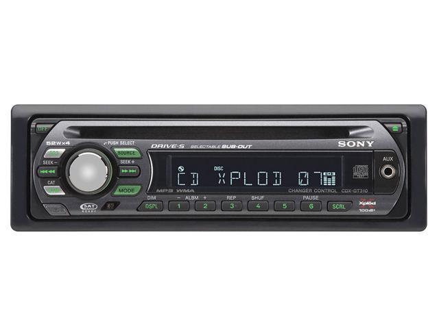 SONY CD Receiver/MP3/WMA Player/UniLink Control