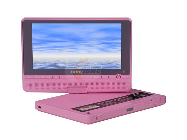 sony dvp fx810p pink 8 widescreen portable dvd player. Black Bedroom Furniture Sets. Home Design Ideas
