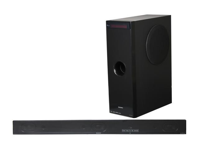SONY HT-CT100 Sound Bar with Subwoofer Home Theater System ...