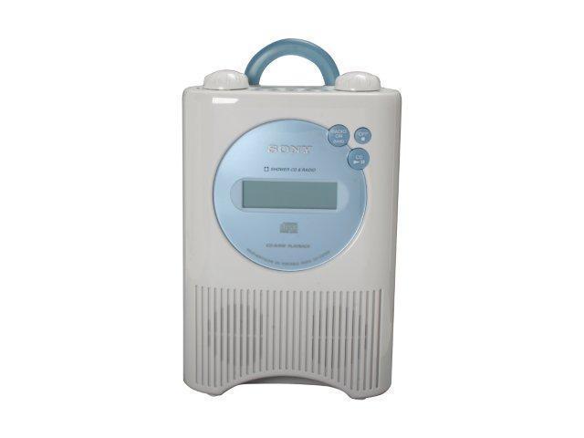 SONY Weather Band Digital Shower Radio/CD Player ICF-CD73W ...