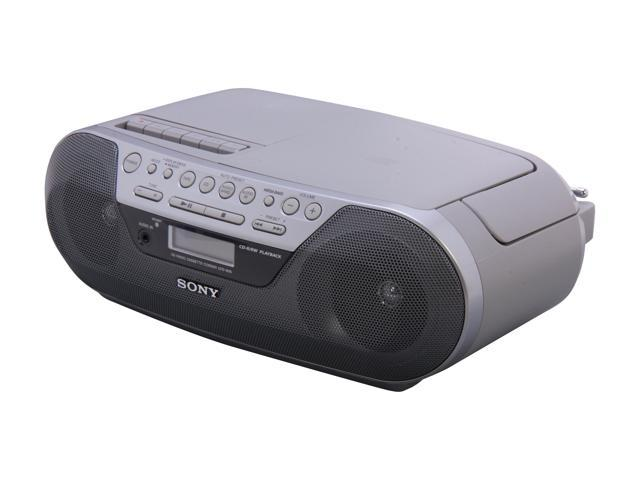 Sony CD Radio Cassette Recorder CFD-S05