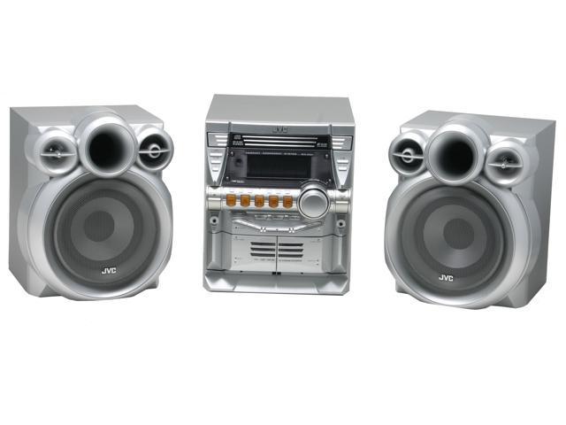 Jvc Cd Cassette Mp3 Radio Mini Audio System Mx Kc4 Shelf