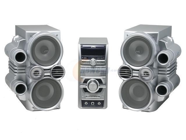 JVC CD/MP3/Radio Mini Audio System HX-C6 Shelf System