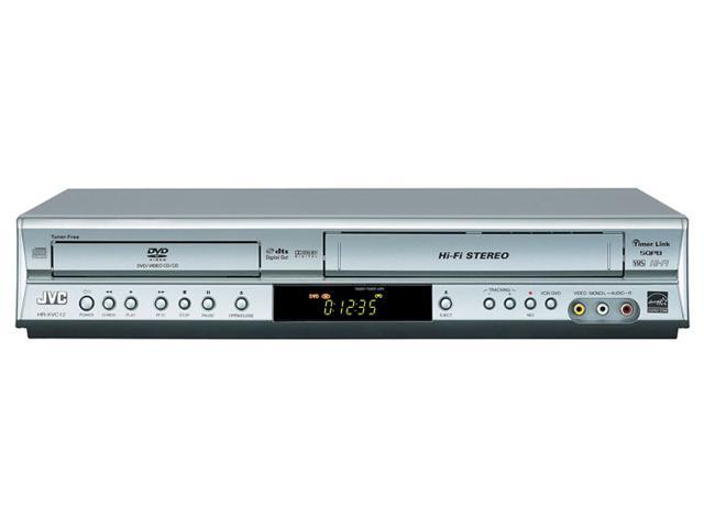 jvc hr xvc12s silver dvd player vhs recorder. Black Bedroom Furniture Sets. Home Design Ideas