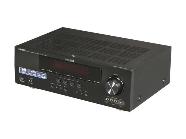 Yamaha rx v365 5 1 channel digital home theater receiver for Yamaha home theater amplifier