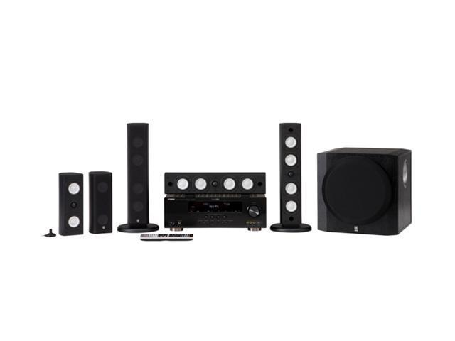 YAMAHA YHT-591BL 5.1-Channel Home Theater System