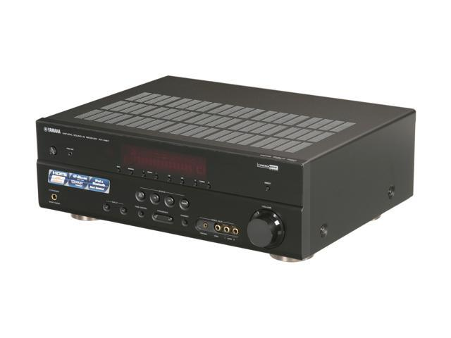 yamaha 5.1-channel digital home theater receiver rx-v467 - newegg