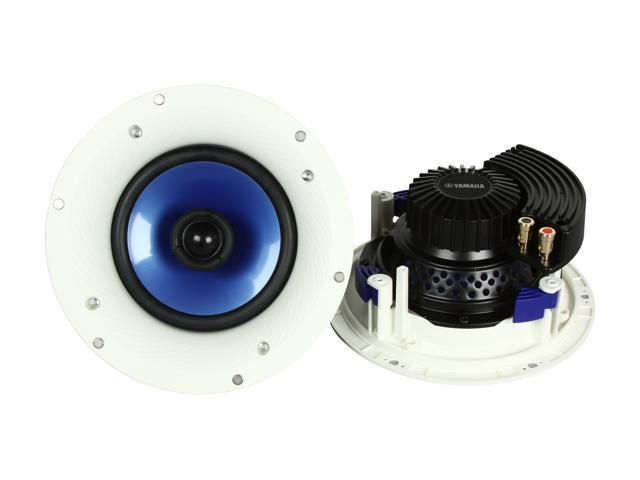 "YAMAHA NS-IC600 2-way Coaxial In-Ceiling Speakers with 6-1/2"" Woofer Pair"