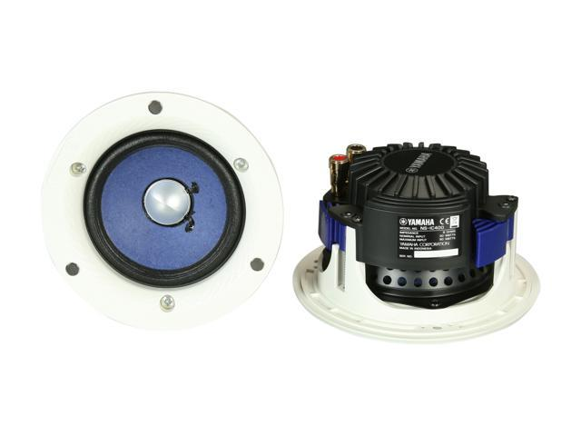 Yamaha NS IC400WH In Ceiling Speakers, White, Pair