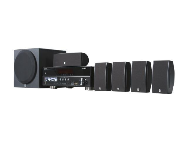 YAMAHA YHT-495BL 5.1 Channel Home Theater in Box System