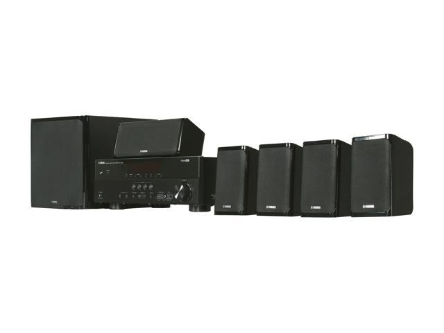 YAMAHA YHT-497BL 5.1-Channel Home Theater System