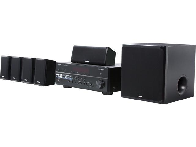 YAMAHA YHT-599UBL 5.1-Channel Network AV Home Theater in a Box