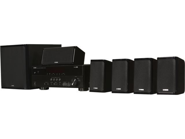 YAMAHA YHT 497 BL B 5.1-Channel Home Theater System