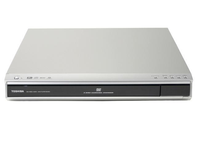 TOSHIBA SD-6915 5 Disc Progressive Scan SACD & DVD-Audio DVD Player