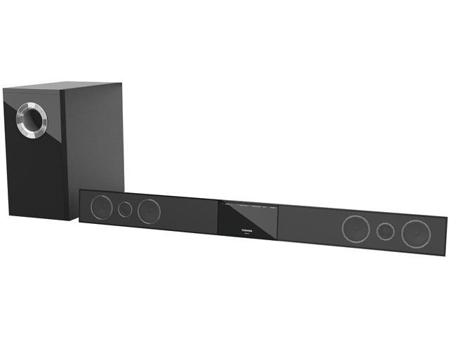 TOSHIBA SBX4250 2.1 CH 300W Sound Bar W/ Wireless Subwoofer