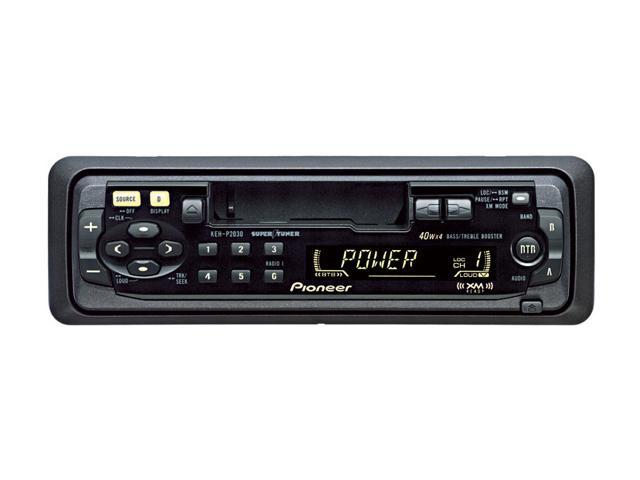 Pioneer Cassette Player - XM Ready