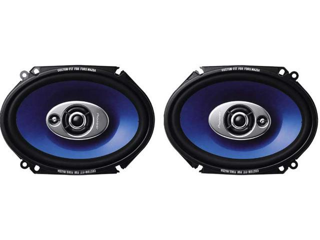"Pioneer 6"" x 8"" 240 Watts Peak Power 3-Way Speaker"