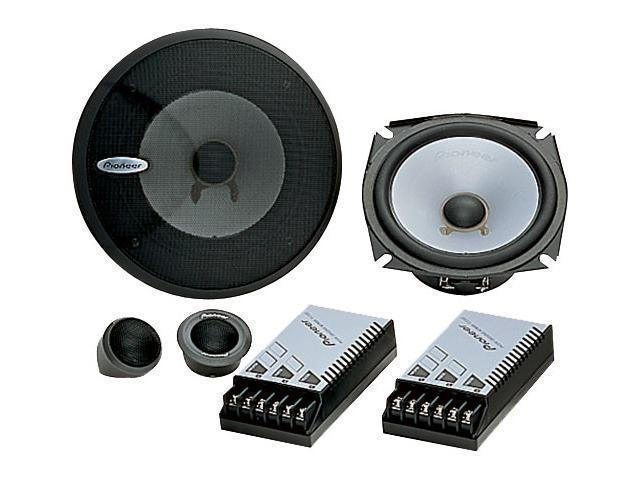 """Pioneer 5.25"""" 150 Watts Peak Power Component Speaker Package"""