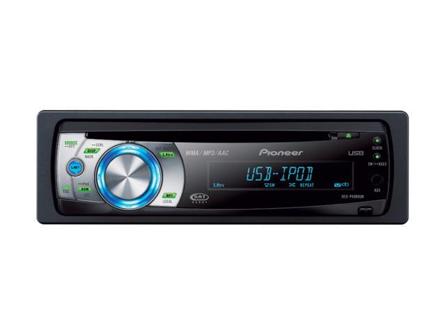 Pioneer CD Receiver with USB Direct Control of iPod
