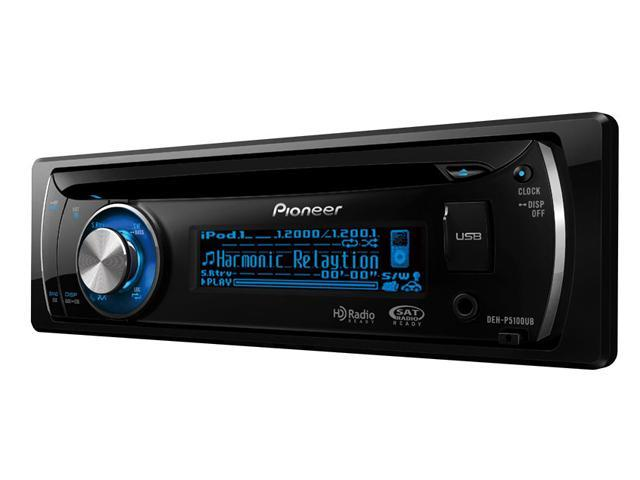 Pioneer CD Receiver with 2-Line OEL Display