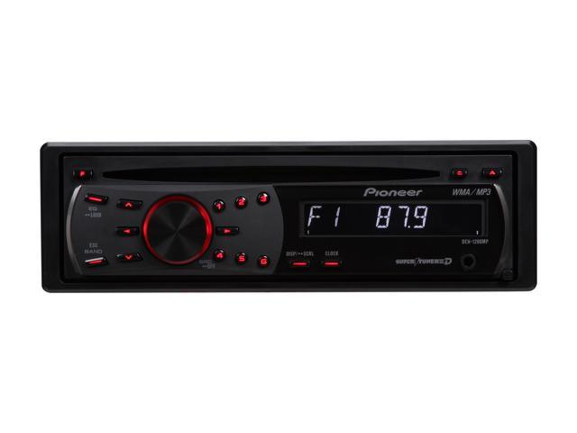 Pioneer CD Receiver w/MP3/WMA Playback & Remote Control