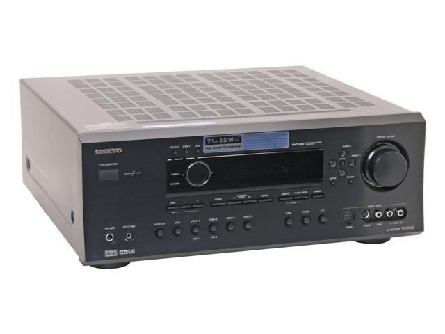 ONKYO TX-SR602 7.1-Channel Black Home Theater Receiver