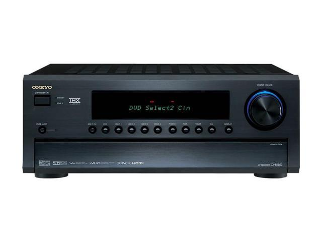 ONKYO TX-SR803 7.1-Channel Black THX Select Certified Home Theater Receiver
