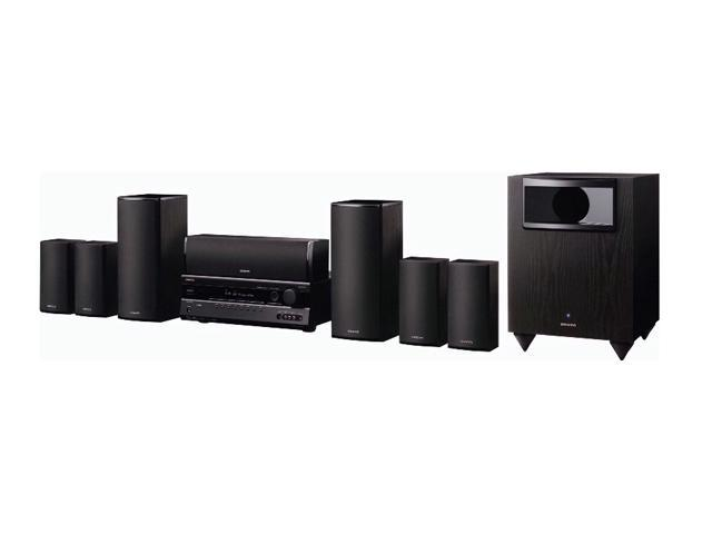 ONKYO HT-S5200 7.1-Channel Black Home Theater System with iPod Dock