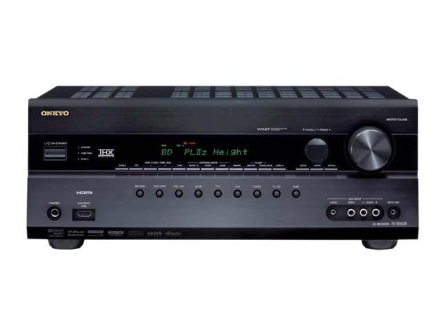 ONKYO TX-SR608 7.2-Channel Home Theater Receiver