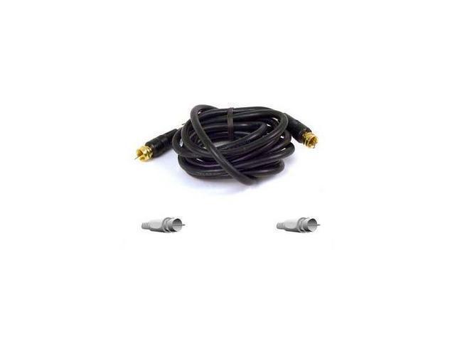 BELKIN PURE AV F8V304-06 6 feet RG59 Coaxial Cable M-M
