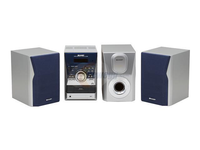Sharp Cd Radio Shelf System Xl Mp60 Shelf System Newegg Com