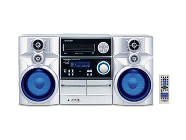 Sharp Cd Cassette Mp3 Radio Mini Audio System Cd Mpx850