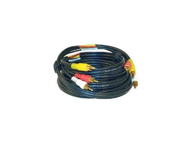 RCA Model VH84 6 feet Stereo Audio/Video Cable with Molded Connectors Male to Male