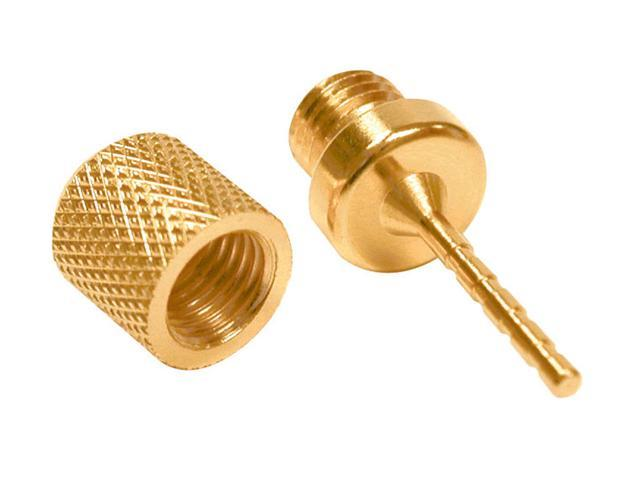 Pin-Type Screw-On Speaker Wire Connectors