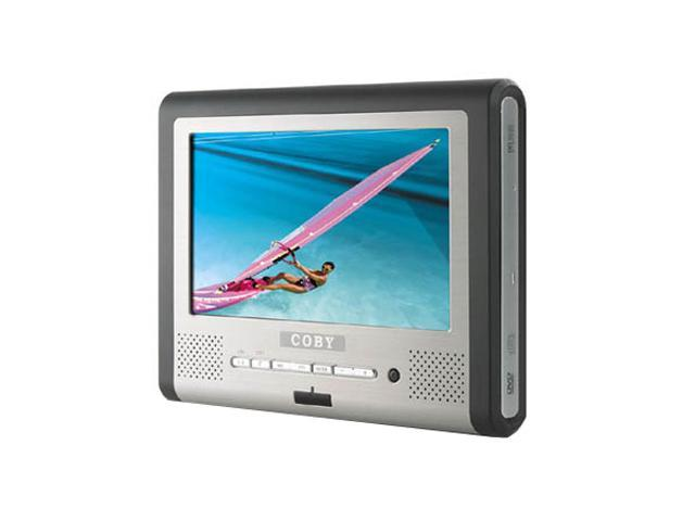 coby tf dvd7705 portable tablet dvd player w 7 16 9 tft. Black Bedroom Furniture Sets. Home Design Ideas