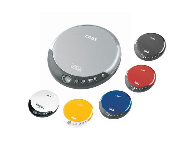 COBY Slim Personal CD Player CXCD109RED
