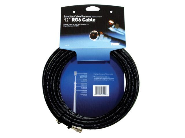 TERK TRG-12 12 feet RG6 Coaxial Cable M-M